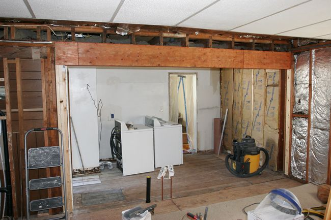 Kitchen Beam Replacement