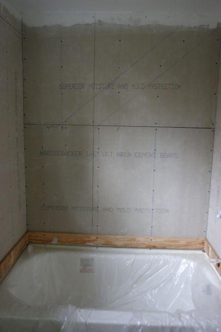 Upstairs Bathroom Tile